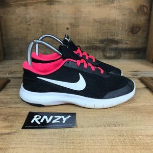 Nike Flex Experience Black Pink Running Shoes